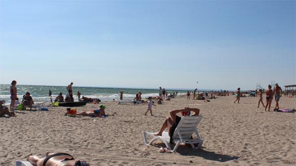 Пляж в Штормовом в Крыму – фото, описание, особенности, как ... | 337x600